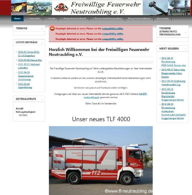 Feuerwehr Neutraubling